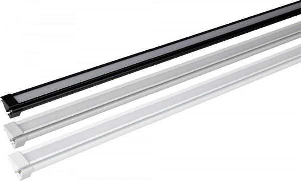Zelt/ LED-Montageschiene 5 m anthrazit für TO 5200