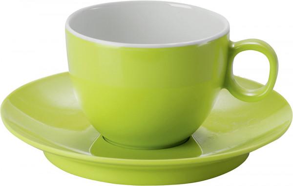 Espressotasse mit Untertasse Lime Green