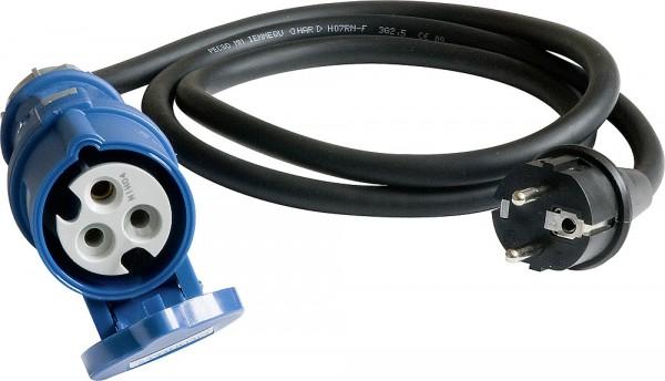 Adapterkabel Cee 17, 1,5 m, schuko pistokkeella - 230V Kaapelit, adapterit, kelat - 9975033 - 4