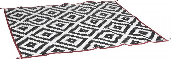 Picknick Decke schwarz/weiß