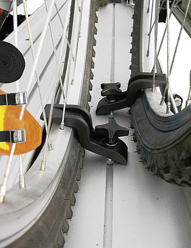 Felgenspanner zu Motorrad- / Fahrradträger