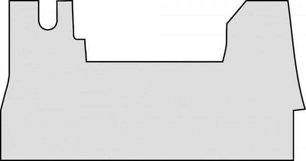 Gummimatte für Renault Master Chassis ab 07 /2014