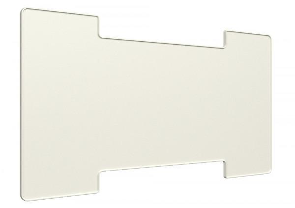 Winterabdeckung 257 x 432 mm weiß