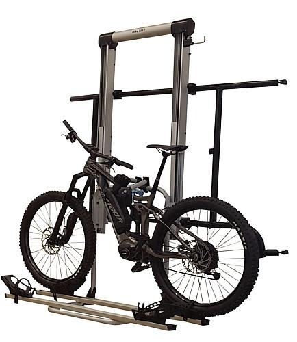 Fahrradträger für MB Sprinter ab 2006 und VW Crafter ab 07/2006 - 20016, elektrisch absenkbar, schwa