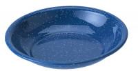 Tiefer Teller Emaille Durchmesser 20 cm, blau