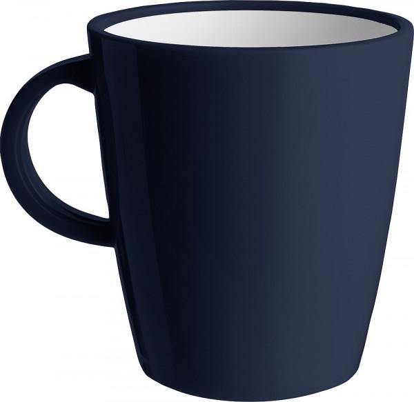 Kaffeetasse ABS Camilla 300 ml blau/grau