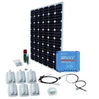 Solaranlage SPR Caravan Kit Solar Peak SMS15 170 W / 12 V