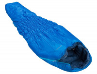 Schlafsack Säntis blau links