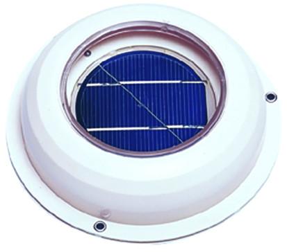 Solar-Ventilator, aus Kunststoff