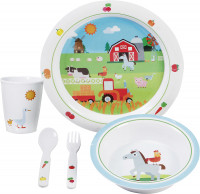 Geschirrset Farm Kids Boy 5-tlg.
