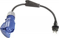 CEE Adapterleitung Typ 12, 10 A, Ausführung Schweiz