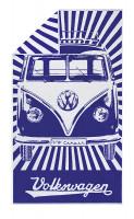 Strandtuch VW T1 Bus 160 x 90 cm blau