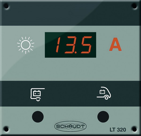 Solar näyttöpanel LT 320 aurinkokennolle - Aurinkokennopaketit - 9972703 - 1