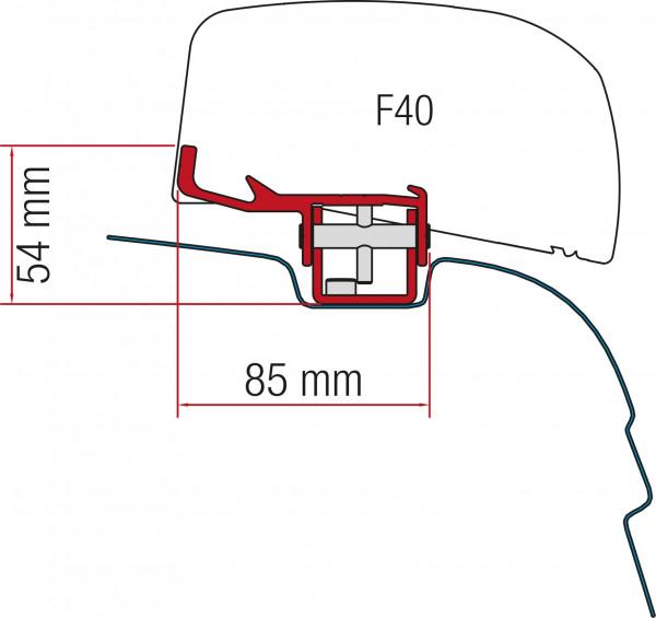 Adapter zu Markise F40 Van