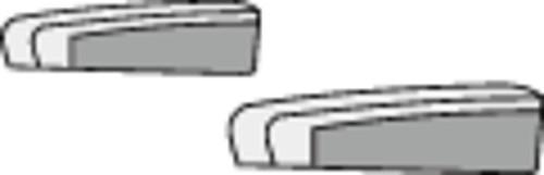 Armlehnenbezüge für Fiat Chassis Sitze ab 07/2006 Velours