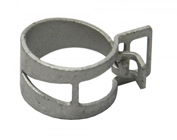 Federbandschelle vorgespannt AD - Ø 15 mm