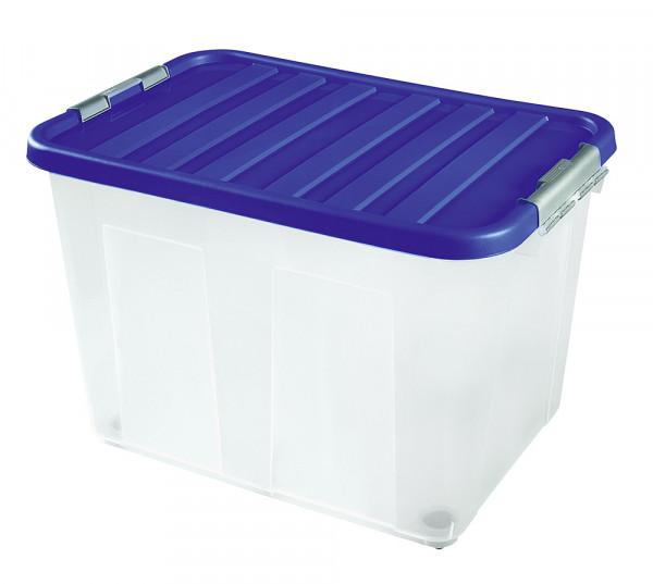 Clipbox mit Deckel und Rollen 60 x 40 x 40 cm