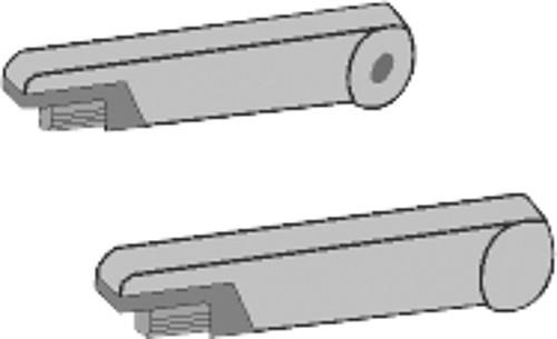 Armlehnenbezüge für Isri Sitze bis 6/2006 Velours