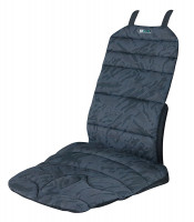 Sitzauflage Basic light schwarz / grau