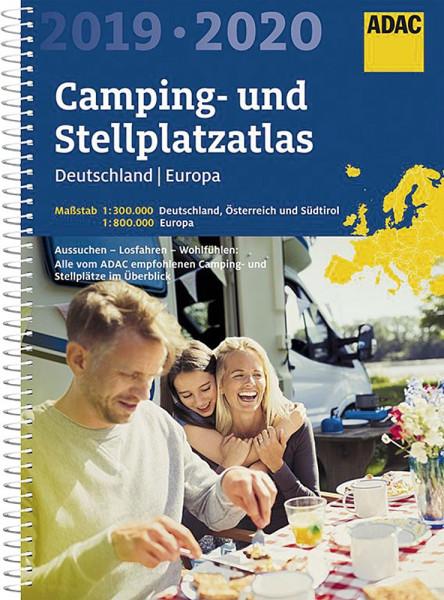 ADAC Kartenatlas Deutschland / Europa - 2019 / 2020