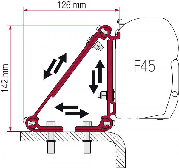 Adaptersatz Fiamma Multi Kit Multi