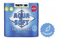 Toilettenpapier Aqua Soft 4 Rollen