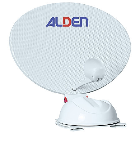 SAT-TV-Paket mit AS4 80 HD SKEW / S.S.C. HD / LED-TV