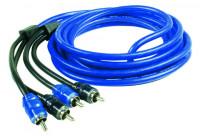 "ZEALUM Cinch-Cable ""PURE"" 1m 2-Kanal"