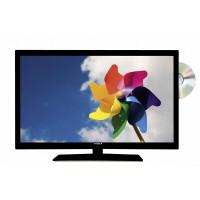 TV 19 DVD DVBT2 DVBS2 ohne 220 AC Versorgung, Fb. schwarz