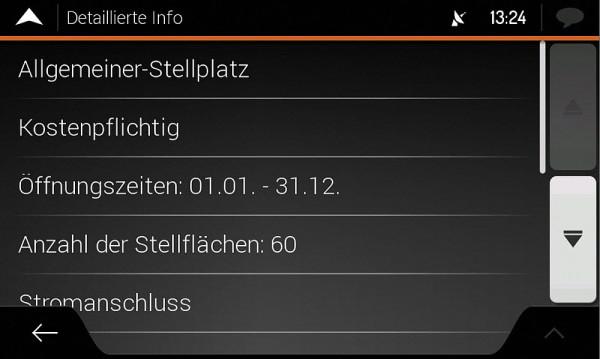 Navigationssoftware für Reisemobile X-MAP27-MH1, 1 Jahr Updates