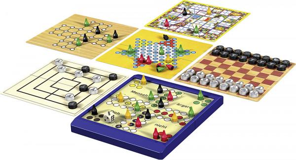 Spiel 8 Reise-Spiele, magnetisch