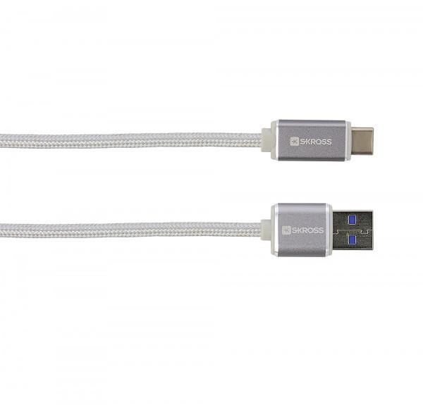 Ladekabel USB zu USB Typ-C Steel Line