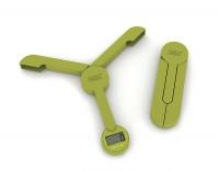 Waage Tri Scale faltbar digital grün