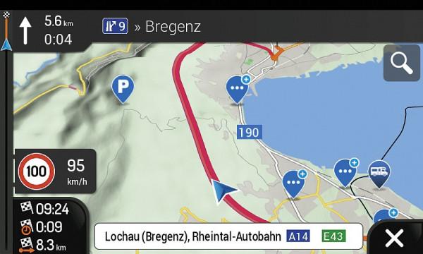 Navigationssoftware Z-EMAP66-EHG3 für Reisemobile 3 Jahre Updates