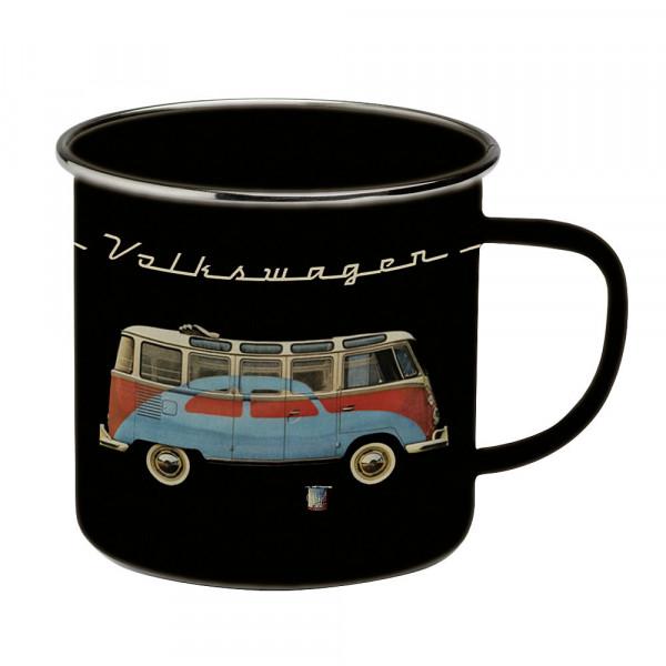 Henkelbecher VW T1 Bus schwarz