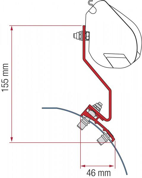 Adapterkit F35 VW Caddy