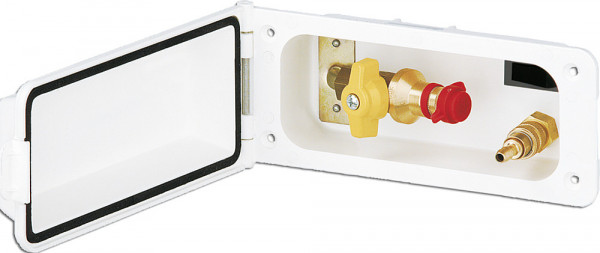 Versorgungsklappe Variant RST 8 mm Wasseranschluss 9 und 10 mm Tülle