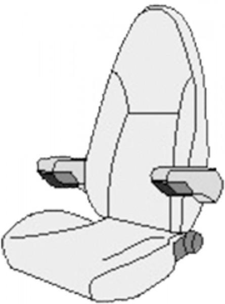 Istuinsuoja Isri Atessa Sitz - Istuinsuojat - 9914153 - 2