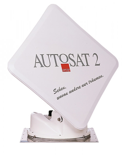 Satanlage AutoSat2F Control mit Aufbau Bedienteil
