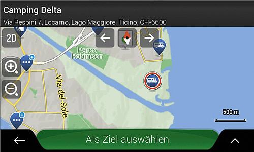 Navigationssoftware für Reisemobile X-MAP27-MH3, 3 Jahre Updates