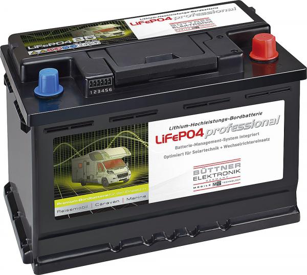 Bord-Versorgungsbatterie LiFePO 85 AH