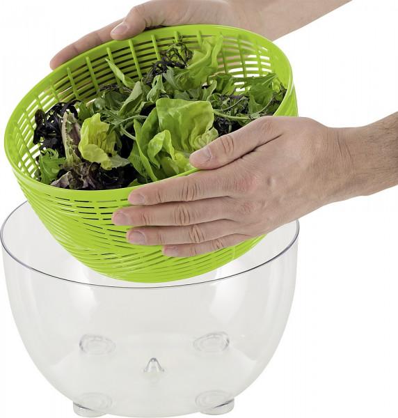 Salatschleuder grün Durchm. 26 cm