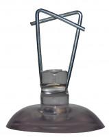 Kunststoffsauger zum Aufhängen von Rohren