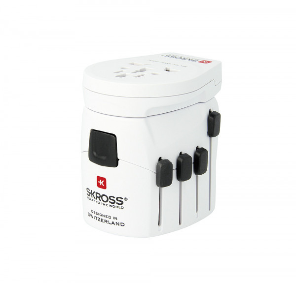 Adapter Stecker PRO World und USB