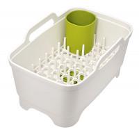 Waschschüssel und Geschirrabtopfer Wash & Drain Plus weiß/grün