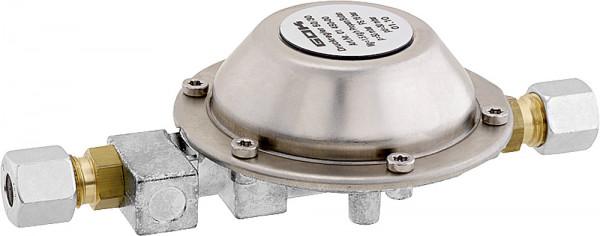 Niederdruckregler 30 mbar 1,5 kg/h RVS 8 x RVS 8