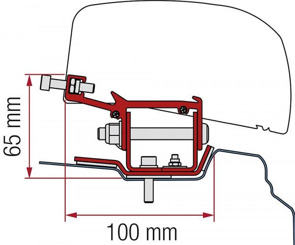 Adapter 2-tlg. Renault Trafic L1 ab 2014 für F40van