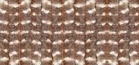Superflausch-Türvorhang, braun/weiß