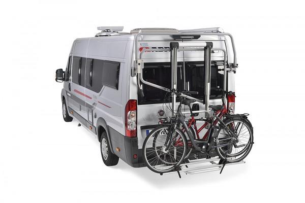 Kastenwagen Trägersystem Futuro mit Rüstsatz für 3 Fahrräder, Fiat Ducato ab 2006