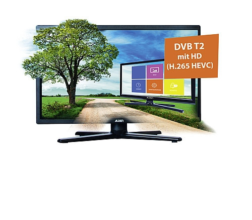 SAT-TV-Paket mit AS2 80 HD / S.S.C. HD / LED-TV 18,5""